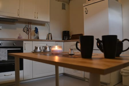 Lovely, cozy, private apartment with free parking - Skedsmo - Lägenhet