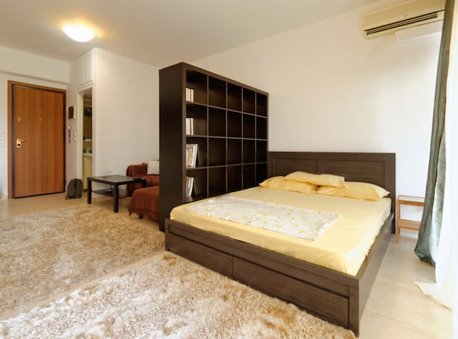 Cozy studio, WI-FI, Privacy. - Thessaloniki