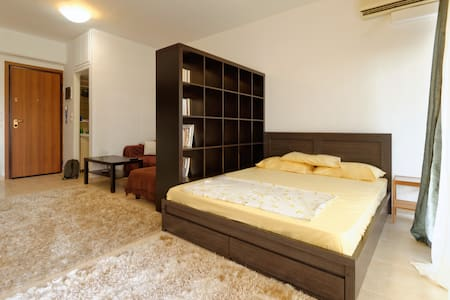 Cozy studio, WI-FI, Privacy. - Thessaloníki - Apartemen