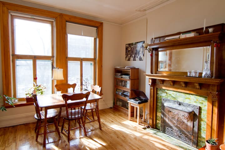 Big Downtown Victorian Apartment - Montreal - Apartment