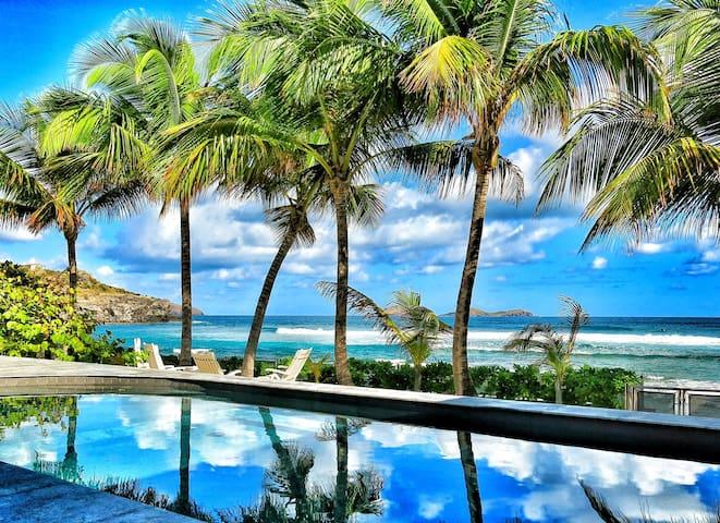 les pieds dans l'eau...prix special en une chambre - Gustavia - Villa