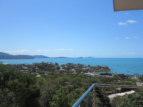 Views out to the Whitsunday Islands & the Coral Sea.