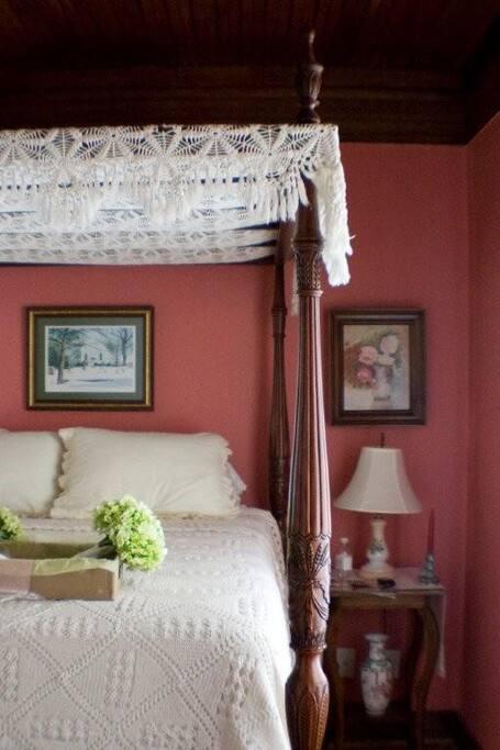 Queen Antique Bed