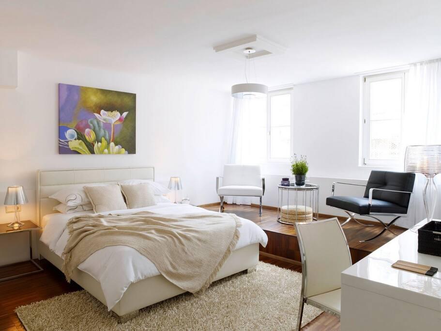 Marc Aurel Strasse -  bedroom style