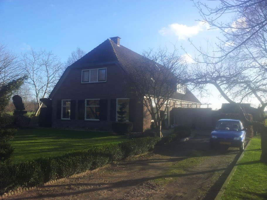 Gezellig ruime vrijstaande woning appartementen te huur for Vrijstaande boerderij te huur gelderland