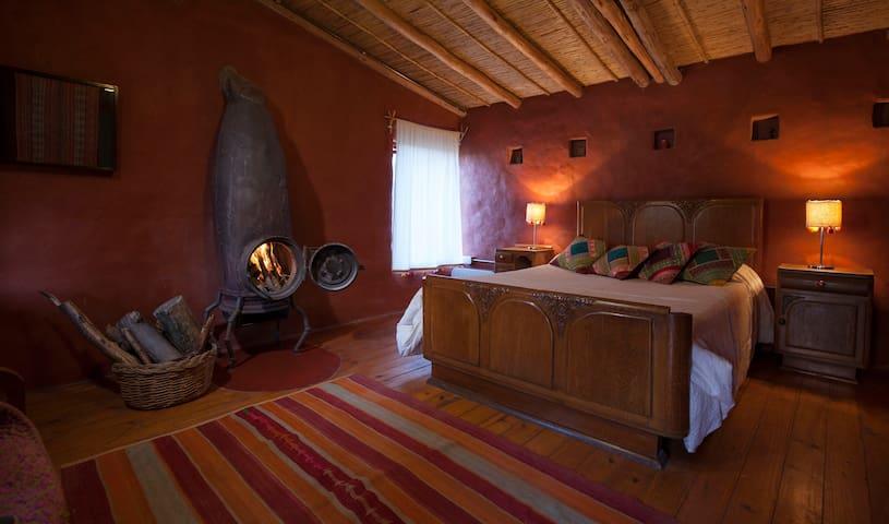Habitación doble matrimonial - Volcán - Wikt i opierunek