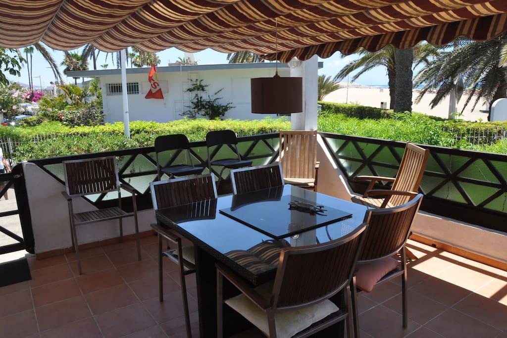 terraza comedor seis plazas
