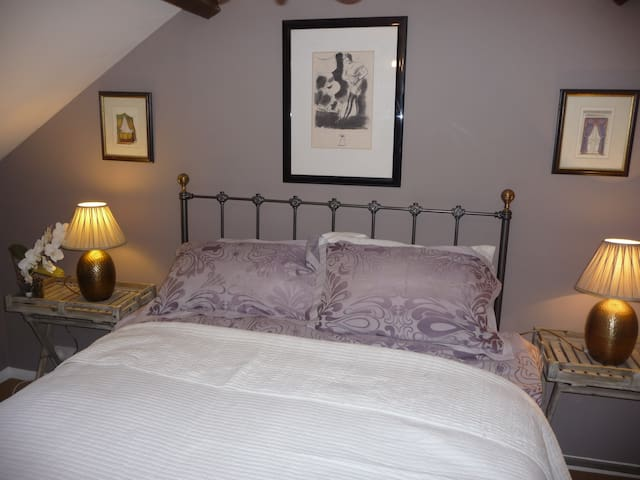 One of the cosy first floor bedrooms