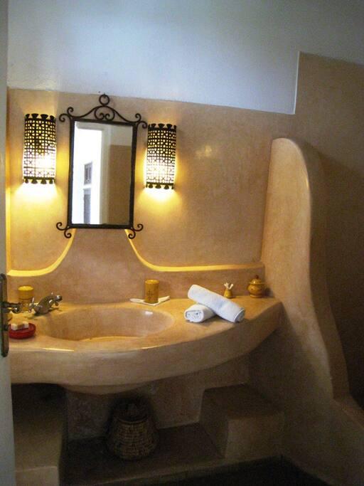 Salle d'eau privée avec douche/wc
