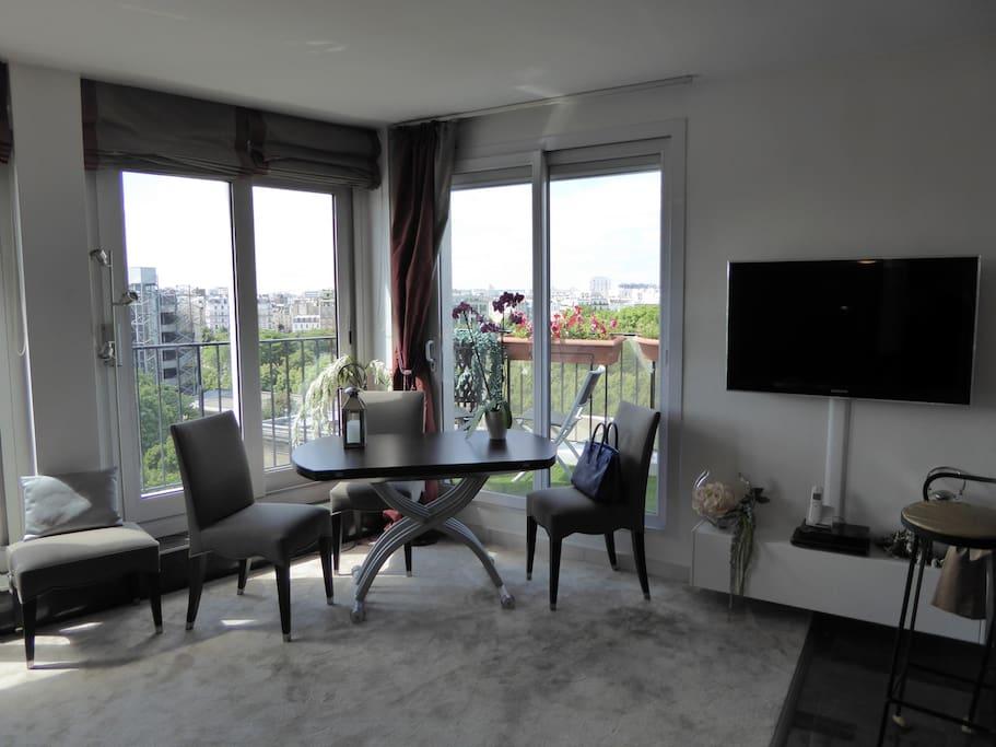 fabulous view over paris st germain montparnasse apartments for rent in paris le de france. Black Bedroom Furniture Sets. Home Design Ideas