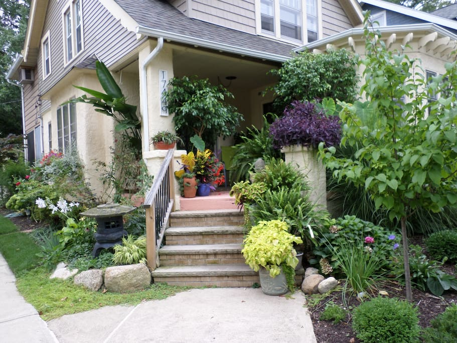 Front of my home  with porch at your disposal