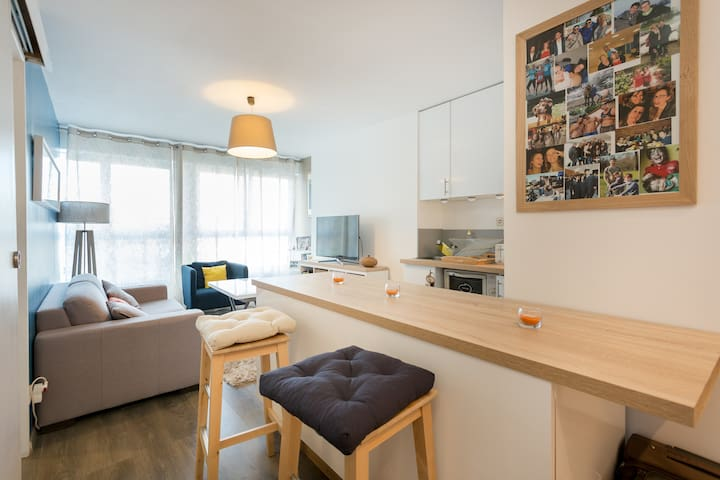 Appartement cosy à 100m de Paris - Boulogne-Billancourt - Daire