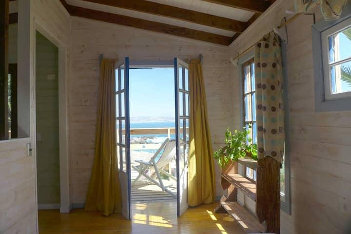 Casa frente al mar en Las Cruces