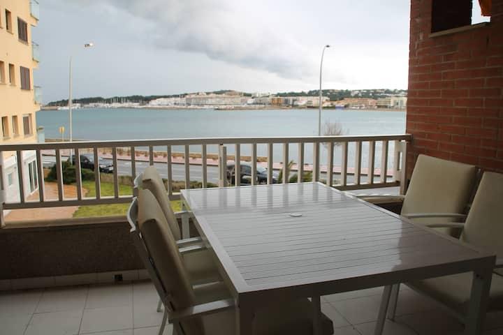 Fantàstic apartament davant del mar