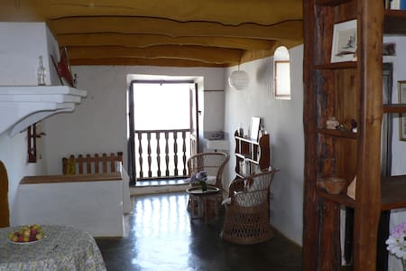 Preciosa casa alpujarreña en el GR7 - Pitres (La Taha) - Casa