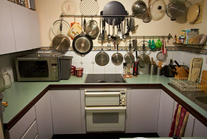 Amazingly well-equipped kitchen