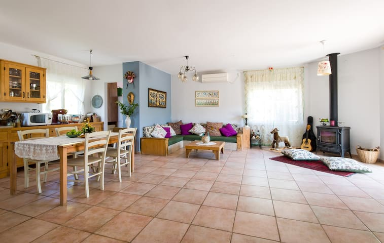 Spacious family house in Galilee - Haluts - Casa