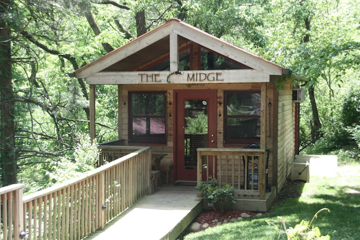 Midge Cabin on the South Holston - 布里斯托爾 - 小木屋