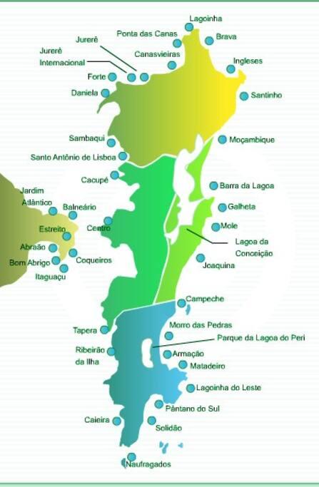 """Mapa da """"Ilha da Magia""""."""