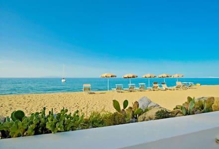 Beach-side with pool-Lipari C apt. - Terme Vigliatore - Apartment