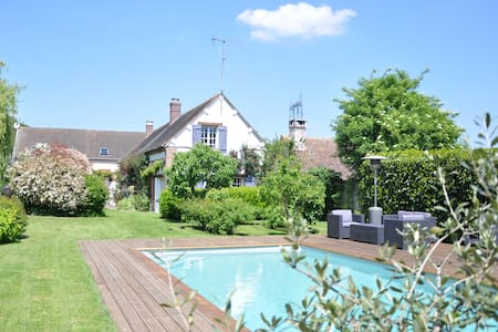 House in the country, swimming-pool - Le L'habit - Haus