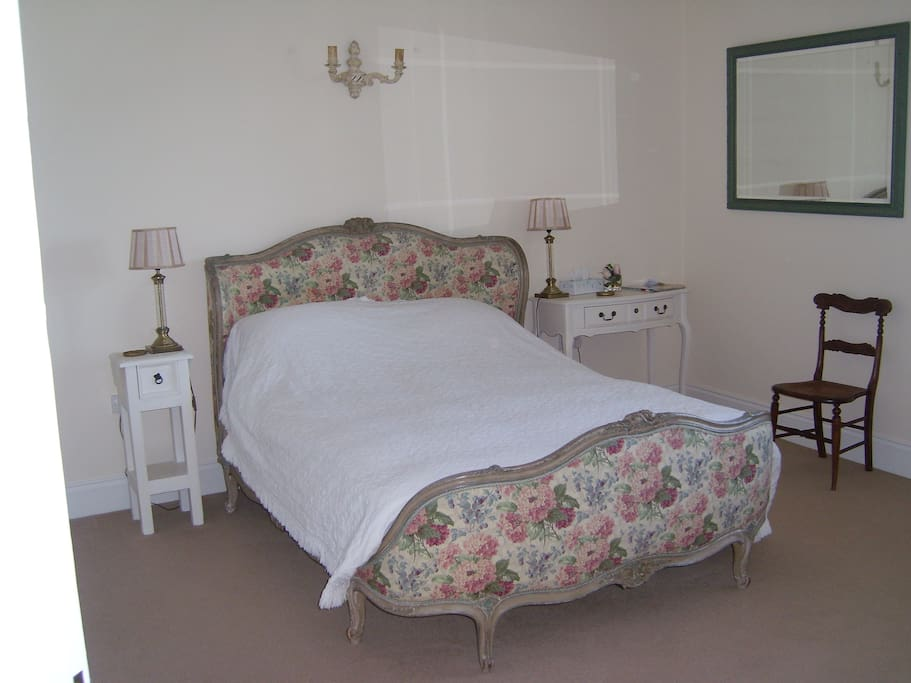 French style double bed