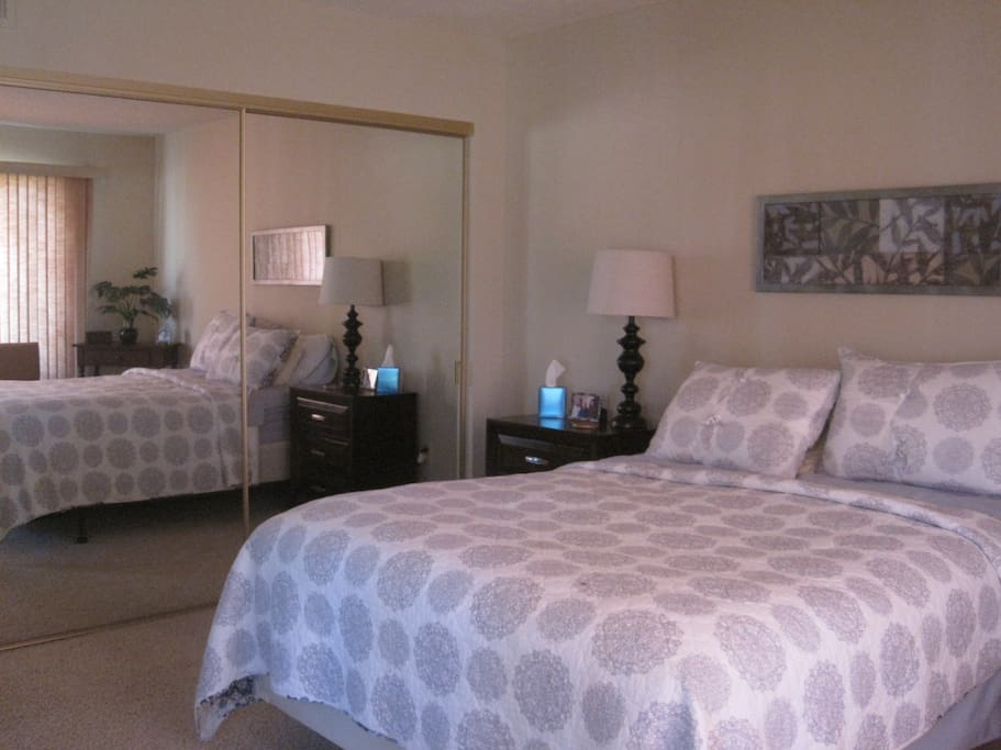 Extra large Master bedroom with private full bath