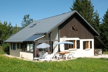 Room with 2 single beds in quiet house in Vercors - Saint-Nizier-du-Moucherotte