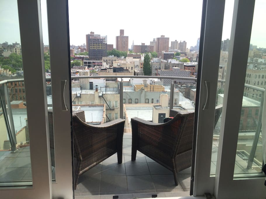 Take it all in on one of your private balcony.