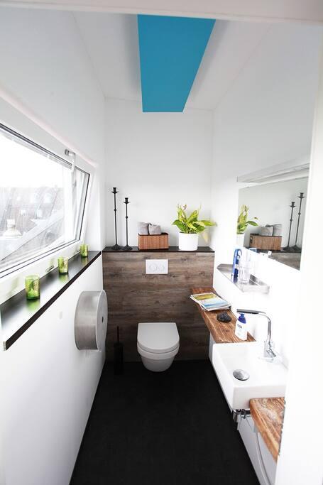 WC in der 2. Etage