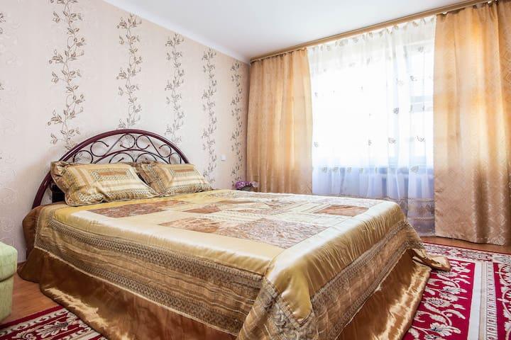 квартира от центра 10 минут WI-FI. - Minsk - Apartmen