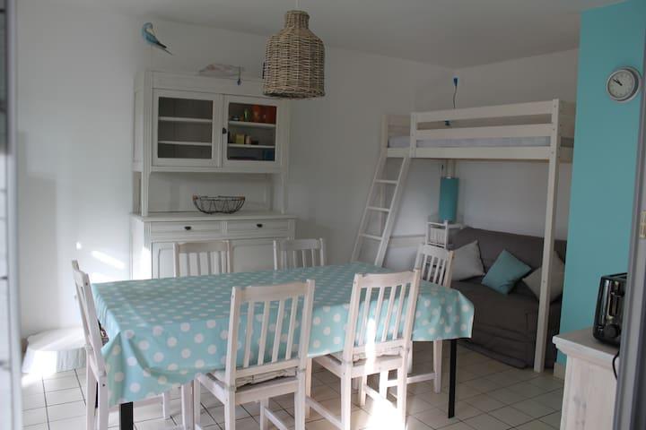 Appartement rez de jardin - Bretignolles-sur-Mer - Daire