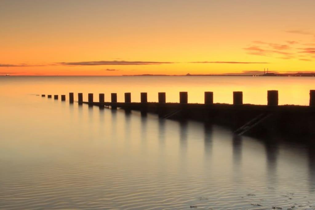 Portobello sunset