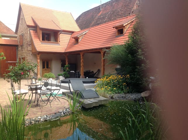 Gite quiet 5 minutes from Obernai - Bischoffsheim - House