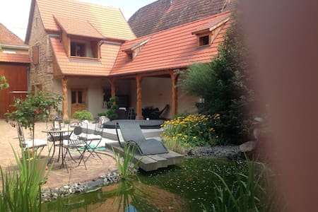 Gite quiet 5 minutes from Obernai - House