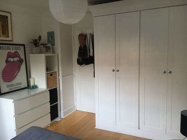 Scandi style double room in Caledonian Road