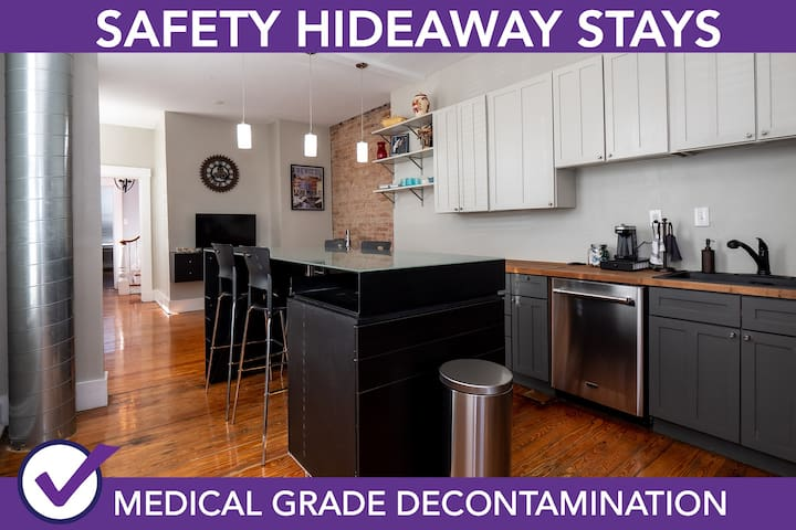Safety Hideaway - Medical Grade Clean Home 54