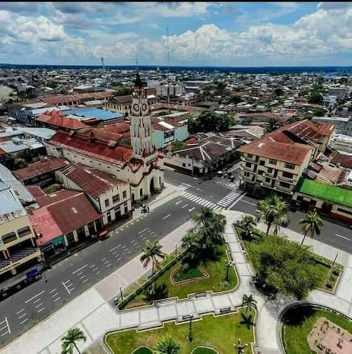 A nice center place of Iquitos