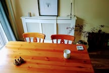 Living room : Dining table