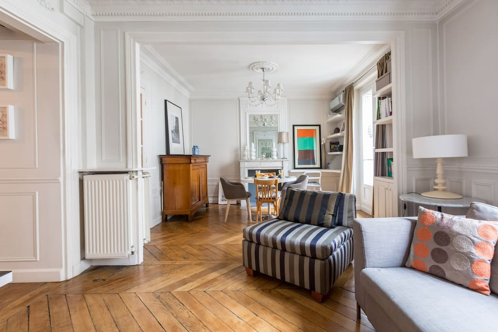 Luxury Flat with A/C and lift - Close République