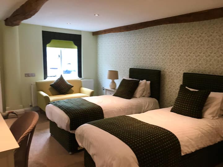 Twin Room at The White Hart