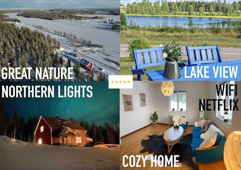COZY Home, own LAKE acces & own FORREST, NETFLIX!