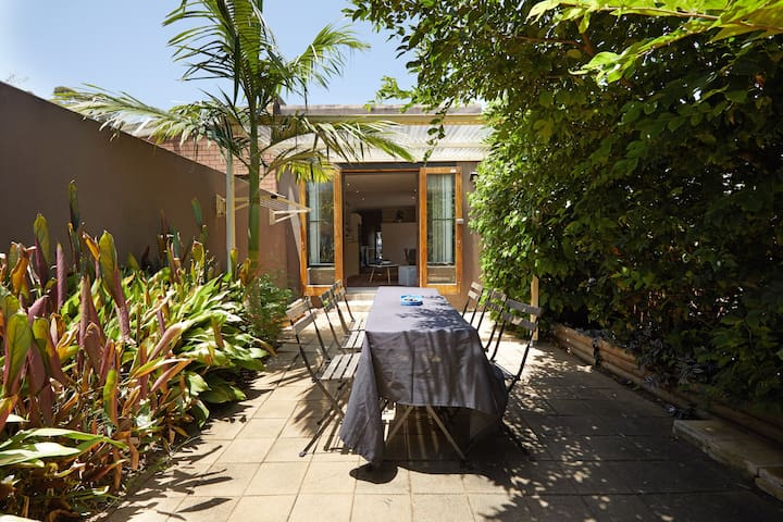 Sunny and spacious courtyard to enjoy!