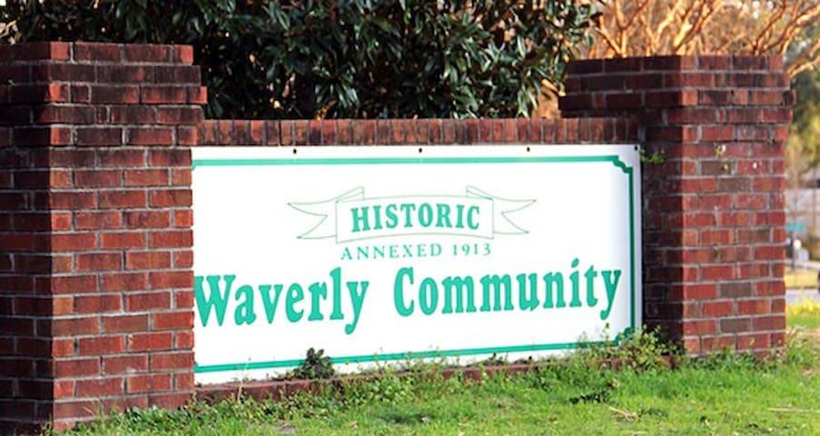 Charming Historic Waverly Condo