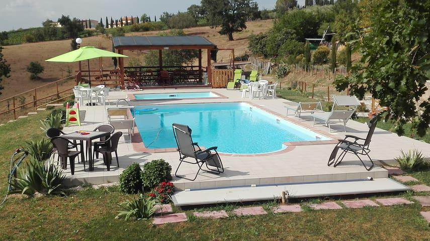 Collelungo di Maremma; agrituirismo piscina tennis - Magliano in Toscana - Apartment