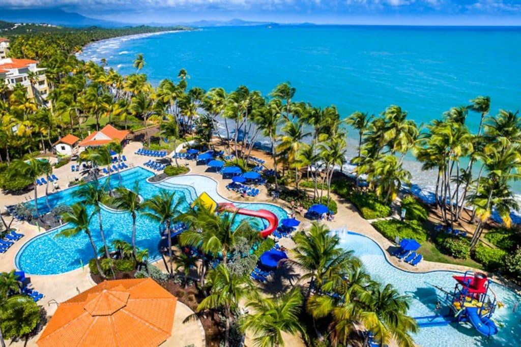 Palmas Del Mar Beach Resort located Next Door