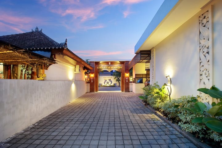 -2BR- villa underwood seminyak Privat pool