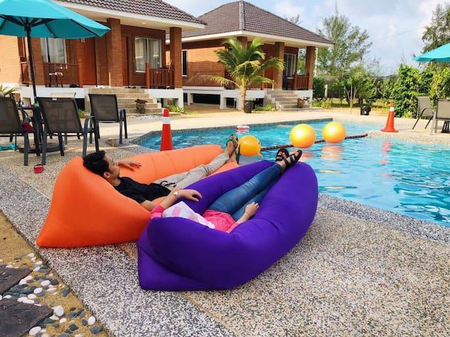 CTJ LODGE, Casa Tanjung Jara Pool View & Sea View