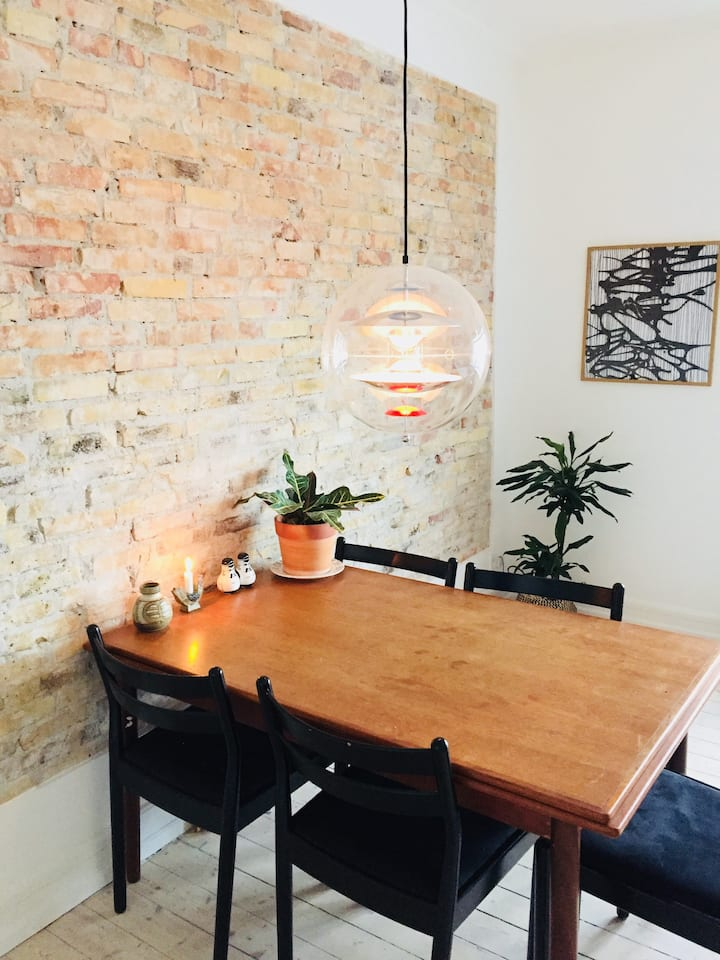 Beautiful room placed in Nørrebro