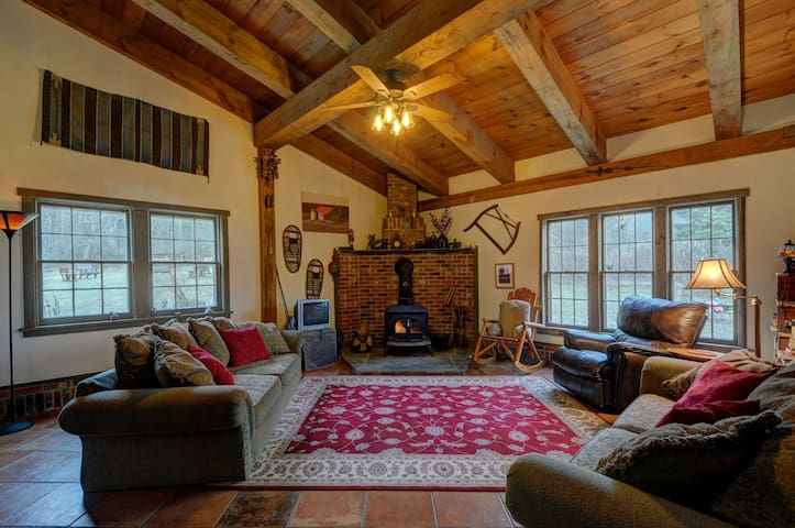Converted Vermont Barn on 6.5 very private acres